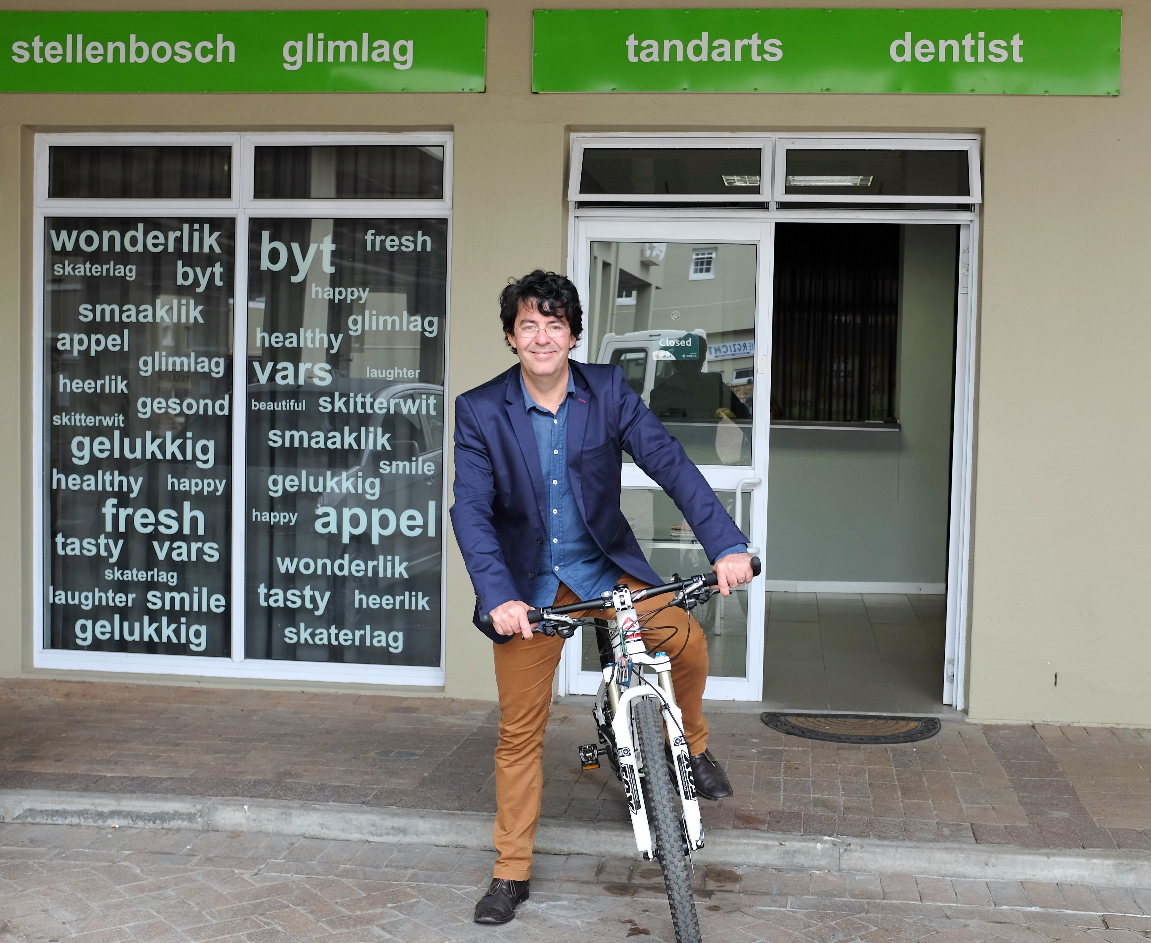 Fietsportret: Ivann Kirsten (tandarts)