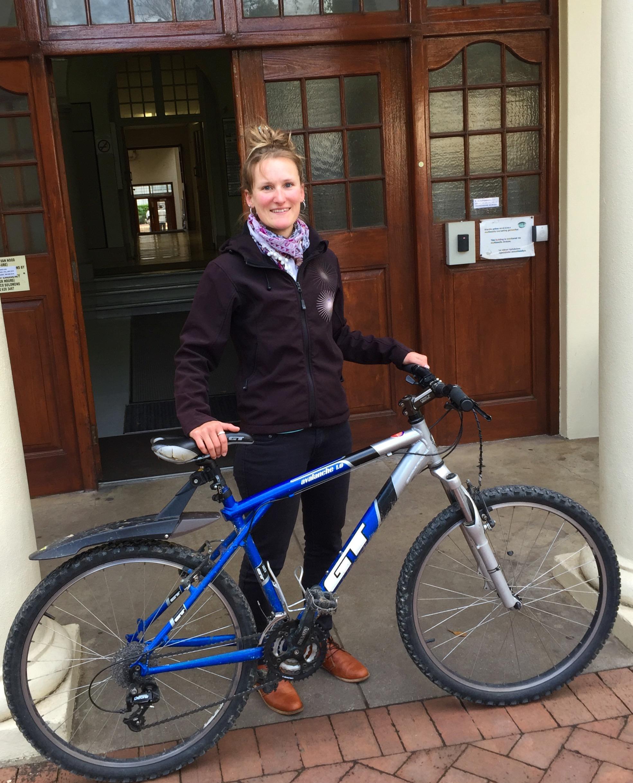 Cycle portrait: Sabrina Kumschick